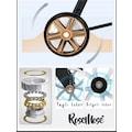 Rose Mose 540 Gold Travel Sistem Bebek Arabası + Salıncak Aparatı