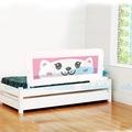 Evokids Kedi Çocuk Yatak Korkuluğu - 140x52 cm