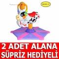Bebek Hoppala Zıp Zıp Hayvan Figürlü Işıklı Müzikli Dönen Zıpzıp