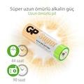 GP Süper Alkalin AA Boy Kalem Pil 20'li Paket R6 LR6