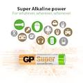 GP Süper Alkalin AAA Boy İnce Kumanda  Pili 20'li Paket