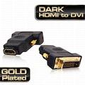 Dark HDMI - DVI-I (24+5 Pin) Dönüştürücü (HDMI dişi - DVI-I erkek