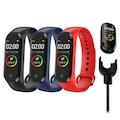 M4 Akıllı Bileklik Saat Watch Band Kalp Ritim Koşu Spor UykuTakip