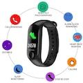 TrackFit M3C Bluetooth Akıllı Bileklik + Yedek Kordon Hediyeli