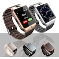 Sim Kartlı Akıllı Saat Smart Watch MicroSD Kart Destekli Kameralı