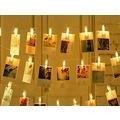 Işıklı Fotoğraf Mandalları 20 Adet 3 Metre Uzunluğunda Albüm