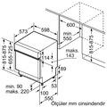 Profilo BMA6252EG 6 Programlı Yarı Ankastre Bulaşık Makinesi