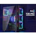 Aerocool TOR Pro USB 3.0 4 x Adreslenebilir RGB Fanlı Full Tower