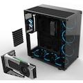 GAMEPOWER WARCRY 6X120mm RGB Gaming Oyuncu Bilgisayar Kasası +PSU