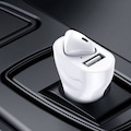 Araç Çakmaklık ile Şarj Olan Kablosuz Bluetooth Kulaklık