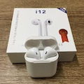 i12 TWS Bluetooth 5.0 Kablosuz Kulaklık Dokunmatik Siri Destekli