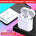i12 TWS Bluetooth Kulaklık Dokunmatik 5.0  Powerbanklı 2019 Model
