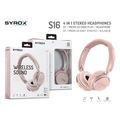 Syrox S16 Kablosuz Hafıza Kartlı Bluetooth Kulaküstü Kulaklık