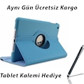 iPad 9.7 2017 2018 6. Nesil Tablet Kılıfı + Hediye Tablet Kalemi