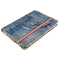 """JEANS FOLIO STAND FOR 9.5''-10"""" TABLETS - BLUE DENIM 19192"""