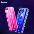 BASEUS Aurora Serisi Optik Kaplama iPhone XS MAX Kılıf