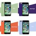 iPhone 7 8 Apple Logolu Silikon Lansman Kılıfı