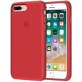 iPhone 7 Plus Kılıf Logolu Lansman Altı Kapalı İç Kısım Kadife