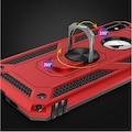 Özel Şık Tasarımlı Standlı Tank Kılıf Zore iPhone 7 Yüzüklü