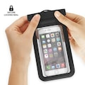 Su Geçirmez, Kilitli iphone samsung uyumlu kılıf cüzdan