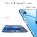mobile store Slim Fit iPhone XR Kılıf Şeffaf Silikon