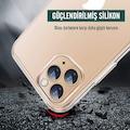 mobile store Slim Fit iPhone 11 Pro Kılıf Şeffaf Silikon Kapak