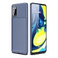 Samsung Galaxy A31 Kılıf Tam Korumalı Lens Karbon Tasarım Silikon