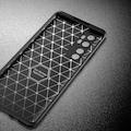 Xiaomi Mi Note 10 Lite Kılıf Tam Korumalı Lens Karbon Silikon