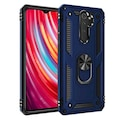 Xiaomi Redmi Note 8 Pro Kılıf YÜZÜKLÜ ZIRHLI SÜPER KORUMA