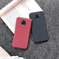 Xiaomi Redmi Note 9 Pro Kılıf Slim Fit Mat Silikon + Cam(Videolu)