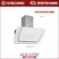 Silverline Misto Beyaz 90cm Davlumbaz