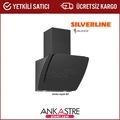 Silverline Misto Siyah 60cm Davlumbaz