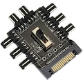 Fan Kontrol 8 Kanal 3 Pin Fan Splitter Sata Power 2 Seviye