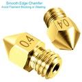 3D Yazıcı Nozzle Nozül 0.2 0.3 0.4 0.5 0.6 0.8 mm MK7 MK8 1.75 mm