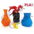 FARK Filament PLA+ Turuncu 1.75mm 0.5Kg 3D Printer Media
