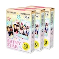 Fuji İnstax Mini 7-8-9-11-25-70-90 için 30 Poz film (SHINY STAR)