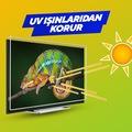 PHILIPS TV EKRAN KORUYUCU / 3 MM  EKRAN KORUMA CAMI CORUIAN