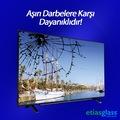 SAMSUNG TV EKRAN KORUYUCU / EKRAN KORUMA CAMI ETİASGLASS