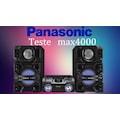 Panasonic SCMAX4000 2400w Max Hifi System
