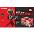 Canon EOS M50 15-45mm Is Stm Vlogger Kit(Canon Eurasia Garantili)
