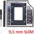 12.7mm 9.5mm HDD Caddy Laptop Notebook 4716p DVD to SSD Kutu Sata