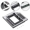 9.5mm HDD Kızak HDD Caddy Notebook DVD to SSD Kutu Sata LAPTOP CD