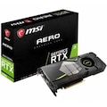 MSI VGA GeForce RTX 2080 AERO 8G RTX2080 8GB GDDR6 DX12 PCIE 3.0