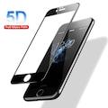 5D iPhone 6 7 8 X Xs XR 6+7+8Plus Tam Kavisli Kırılmaz 5D Cam