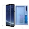 Yeni Nesil 9d Tam Yapışan Uv Cam Samsung Note10 Plus Ekran Koruyu