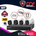 4 KAMERALI Gece Görüşlü Güvenlik kamerası Dahua Marka 720p HD