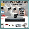 ELİTCAM 4 KAMERA 2MP 1080P SÜPER SET