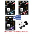 LinkTech Ultra 16Gb 32Gb 64Gb Micro Sd Hafıza Kartı Class10 80Mb/