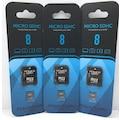 Powerway 8gb 16gb 32gb 64gb Micro Sd Card Hafıza Kartı Adaptörlü
