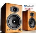 Audioengine A5+ Aktif Bluetooth Hoparlör (Bambu)